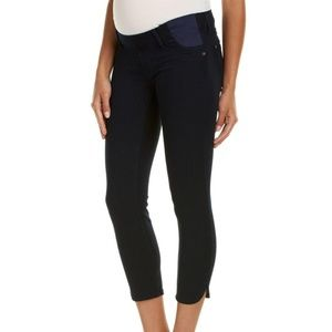 DL1961 Bardot cropped maternity jeans